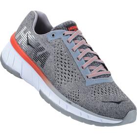 Hoka One One W's Cavu Running Shoes Lunar Rock/Black